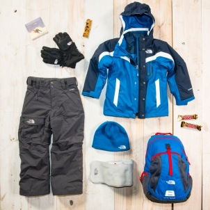 Blue and black TNF